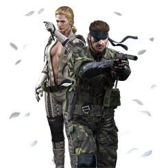 「METAL GEAR SOLID SNAKE EATER 3D」メインビジュアル (C)Konami Digital Entertainment