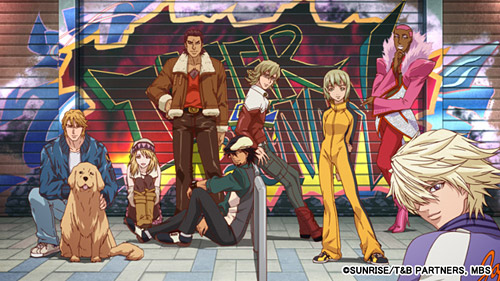 TIGER & BUNNY (C)SUNRISE/T&B PARTNERS, MBS