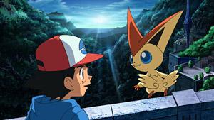 劇場版ポケットモンスター ベストウィッシュ「ビクティニと黒き英雄 ゼクロム」「ビクティニと白き英雄 レシラム」場面写真 (C)Nintendo・Creatures・GAME FREAK・TV Tokyo・ShoPro・JR Kikaku (C)Pokémon (C)2011ピカチュウプロジェクト