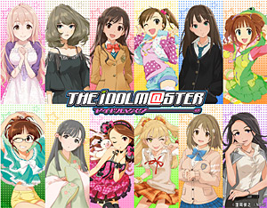 「アイドルマスター ソーシャルゲーム(仮)」 (C)窪岡俊之 (C)NBGI
