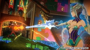 劇場版「TIGER&BUNNY」場面写真 (C)SUNRISE/T&B PARTNERS, MBS