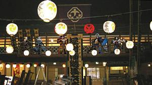 「戦国BASARA 大江戸温泉の宴」内装イメージ