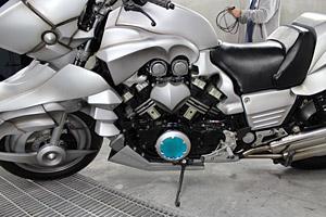 1/1スケール「セイバー・モータード・キュイラッシェ」V-MAX実写バイク (C)Nitroplus/TYPE-MOON・ufotable・FZPC