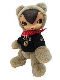 ピザハットオリジナルTシャツ付き トイズフィールドKUMA (C)ToysField.Katsutoshi Otsuka