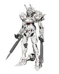 ナイトメア・フレーム「アレクサンダ」 (C)SUNRISE/PROJECT GEASS Character Design (C)2006- 2011 CLAMP