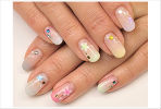 思い出の桜吹雪ネイル (C)Nail Salon Ayumino ALL Rights Reserved. (C) IDEA FACTORY / DESIGN FACTORY
