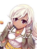 秦 哩音(はたりおん) CV:阿澄佳奈 (C)Akira (C)wEshica