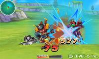『ダンボール戦機 爆ブースト』画面写真 バトル (C)LEVEL-5 Inc.