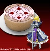 Fate/Zero 「問おう、貴方が私のマスターか」ケーキ (C)Nitroplus/TYPE-MOON・ufotable・FZPC