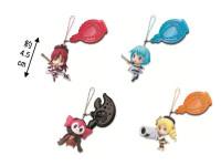 『一番くじプレミアム 魔法少女まどか☆マギカ PART2』ストラップ『魔法少女まどか☆マギカ PART2』(全4種) (C) Magica Quartet/Aniplex・Madoka Partners・MBS