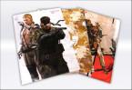 METAL GEAR SOLID クリアファイルセット (C)Konami Digital Entertainment