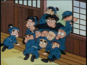 第1話「忍術学園入学の段」 (C)NHK・尼子騒兵衛・総合ビジョン