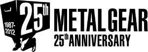 「メタルギア」シリーズ生誕25周年ロゴ (C)Konami Digital Entertainment