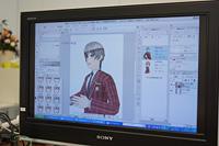 男子高校生3Dキャラクターの表情を変える (C) CELSYS, Inc. All Rights Reserved.