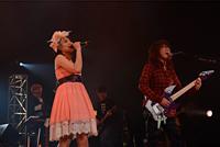 福山芳樹、中島愛 ライブ『FIRE BOMBER 2012』11月23日・渋谷公会堂 写真:宍戸ヤスオ