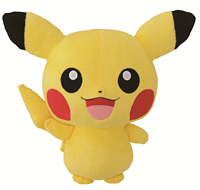 ピカチュウ でかきゅんぐるみ賞(全1種)『一番くじきゅんキャラわーるど ポケットモンスター ベストウイッシュ』 (C)Pokémon