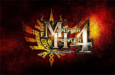 『モンスターハンター4』ロゴ (C)CAPCOM CO., LTD. ALL RIGHTS RESERVED.