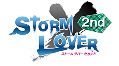 『STORM LOVER 2nd』ロゴ (C)2013 VRIDGE INC. (C)2013 D3 PUBLISHER