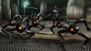 ミストラルと仔月光『メタルギア ライジング リベンジェンス』場面写真 (C)Konami Digital Entertainment  Developed by PlatinumGames Inc.