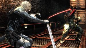 敵の用心棒・サムとの戦い『メタルギア ライジング リベンジェンス』場面写真 (C)Konami Digital Entertainment  Developed by PlatinumGames Inc.