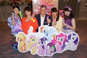 TVアニメ『マイリトルポニー ~トモダチは魔法~』  (C)2010-2011 Hasbro Studios LCC. ALL RIGHTS RESERVED.