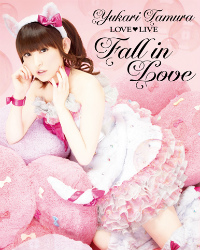 「田村ゆかり LOVE ♡ LIVE * Fall in Love *」Blu-ray