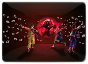 NARUTO-ナルト- アトラクション「激闘!忍界大戦絵巻!!」『J-WORLD TOKYO』(C)岸本斉史 スコット/集英社・テレビ東京・ぴえろ