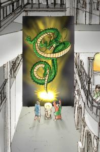 ドラゴンボールアトラクション「つかもうぜ!ドラゴンボール!!」『J-WORLD TOKYO』(C)バードスタジオ/集英社・東映アニメーション