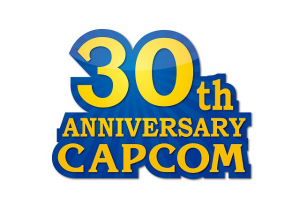 カプコン30周年記念ロゴマーク (C) CAPCOM CO,. LTD. ALL RIGHTS RESERVED.