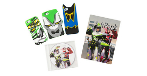 TIGER & BUNNY HERO CASE by SoftBank SELECTION ※画像はイメージです。 (C)SUNRISE/T&B PARTNERS, MBS