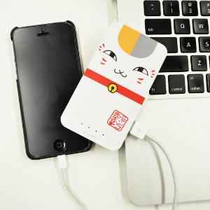 ENERGY Pocket(ケータイ充電器)3000mAh 夏目友人帳ニャンコ先生 (C)緑川ゆき・白泉社/「夏目友人帳」制作委員会