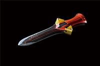 プログレッシブナイフ剣型〈丸〉『ヱヴァンゲリヲンと日本刀展』 (C)カラー
