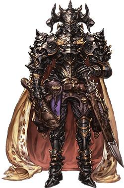 朴 璐美演じる黒騎士『グランブルーファンタジー』 (C)Cygames, Inc.