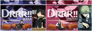 「デュラララ!!×2」と「DARS」のコラボレーション  (C)2014 成田良悟/KADOKAWA アスキー・メディアワークス刊/池袋ダラーズ