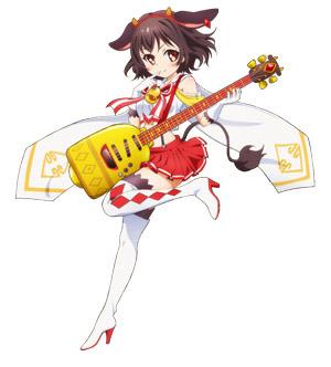 TVアニメ『SHOW BY ROCK!!』 第五弾となるアニメ登場バンド「クリティクリスタ」の新ビジュアルとPVを公開 (C) 2012,2015 SANRIO CO.,LTD. SHOWBYROCK!!製作委員会
