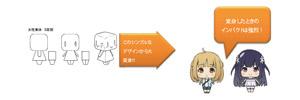 KADOKAWA × キャラアニ共同開発 新感覚のカスタマイズ系ミニフィギュア誕生(C)KADOKAWA Powered by Chara-Ani