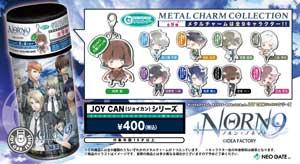 乙女ゲーム「薄桜鬼」「NORN9 ノルン+ノネット」の【JOY CAN】が発売決定 (C) IDEA FACTORY