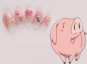 「ホーク」『七つの大罪』キャラクターネイル (C)鈴木央・講談社/「七つの大罪」制作委員会・MBS